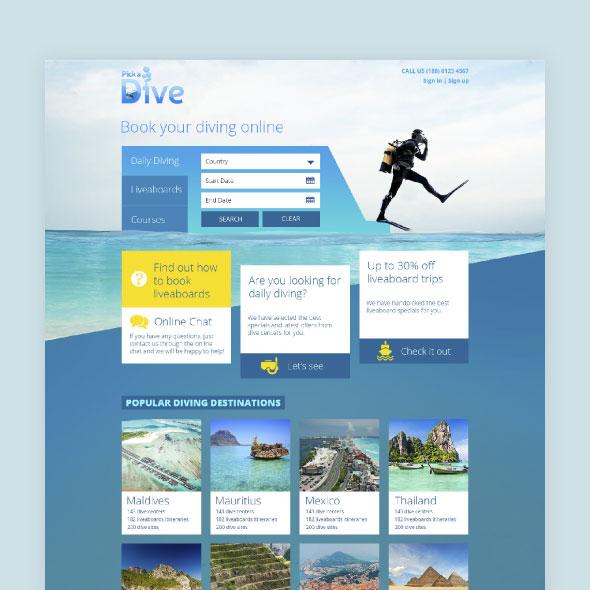 Pick a Dive